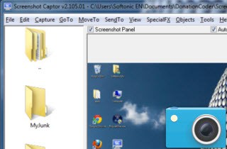 screenshot captor for windows 8