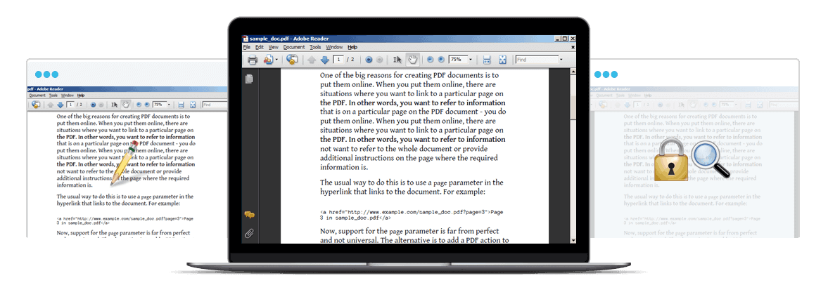 main feature of pdf editor