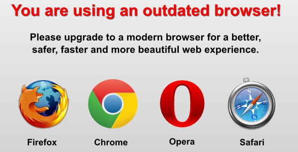 update browser