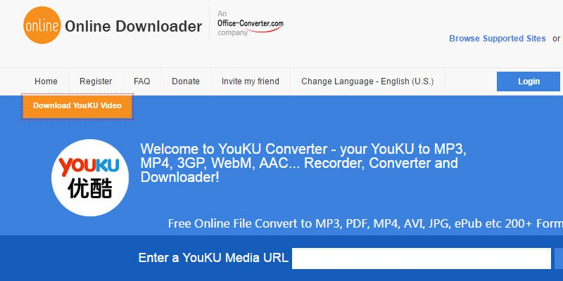 Youku chrome download