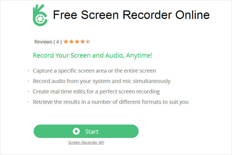 free screen recorder online