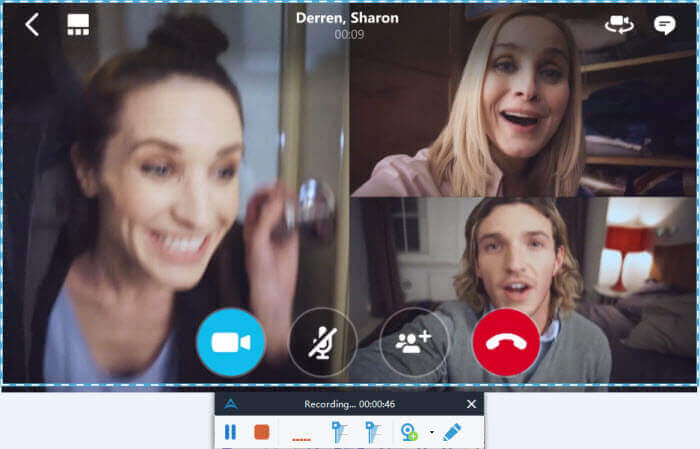record a skype call
