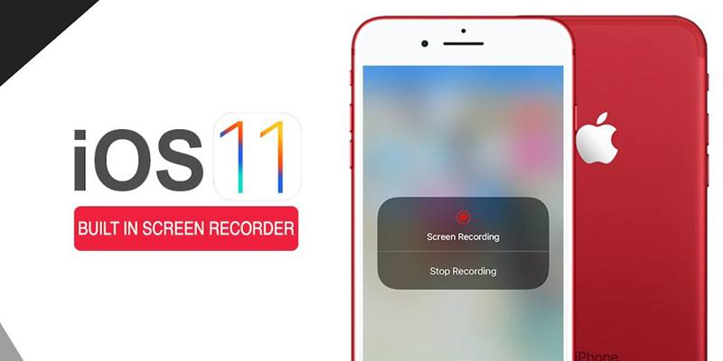 Built-in iOS screen recorder