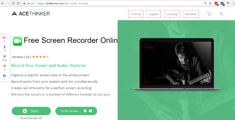 acethinker recorder